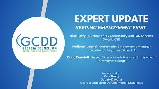 Expert Update: Keeping Employment First
