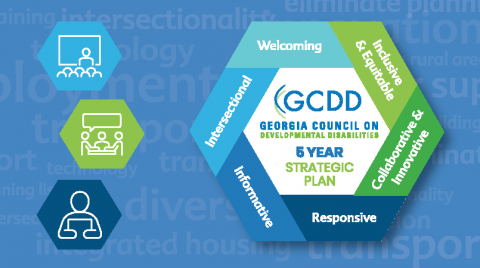 GCDD Receives Five Year Strategic Plan Feedback from Disability Community