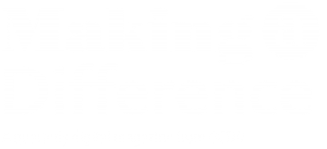 Making A Difference Magazine. A quarterly magazine published by GCDD