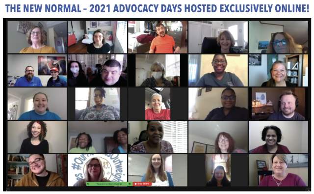 The New Normal: 2021 Advocacy Days Hosted Exclusively Online!