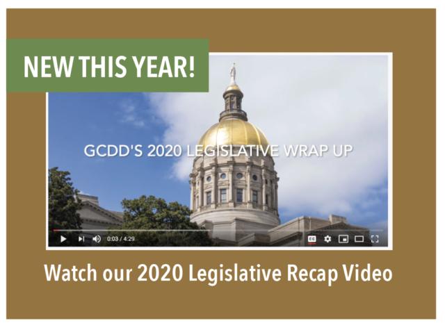 New this year! Watch our 2020 Legislative Recap Video.