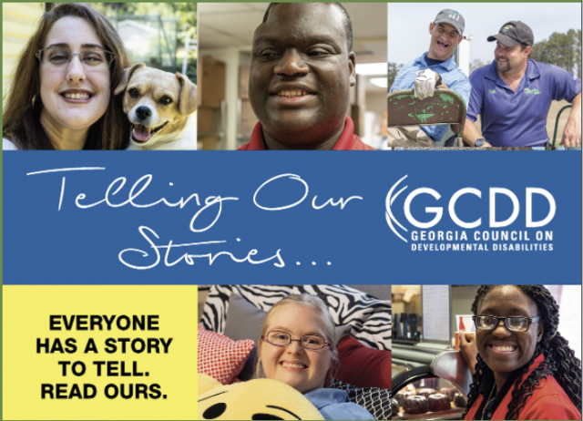 Telling our stories... GCDD. Everyone has a story. Read ours.