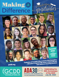 Pictures of graduates of Georgia's Nine inclusive Post-Secondary Education Programs