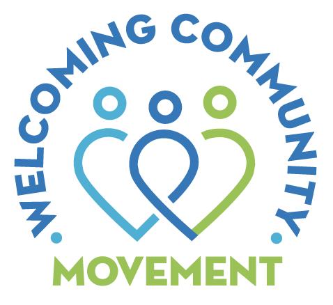 welcoming community movement logo