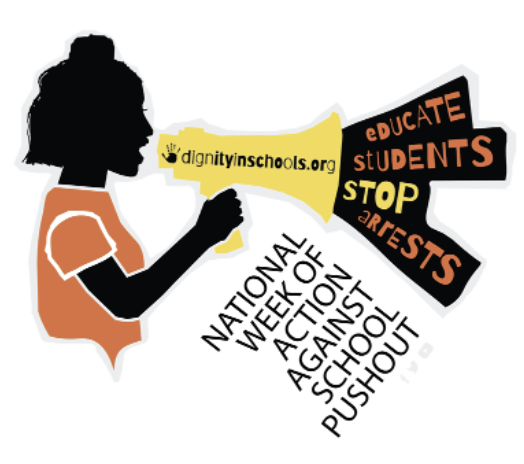 National Week of Action against school pushout. Educate students stop protests.